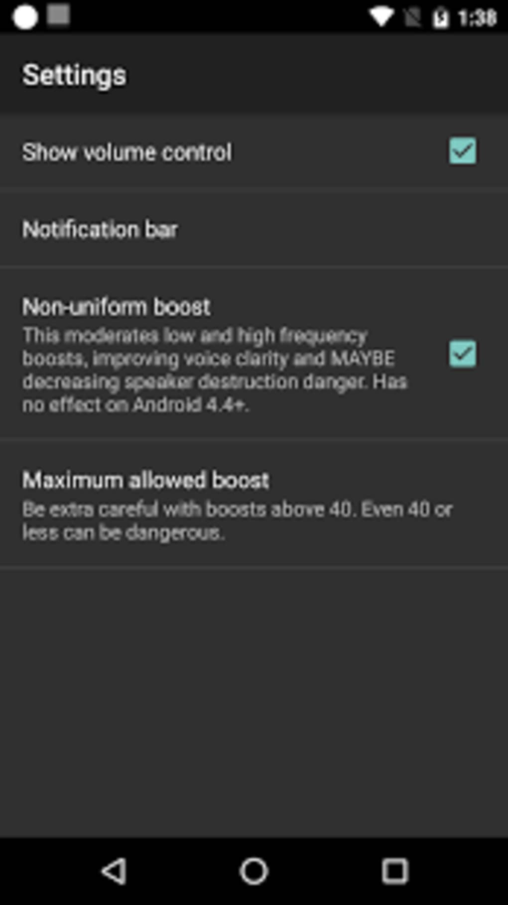 Volume Booster GOODEV for Android - Download