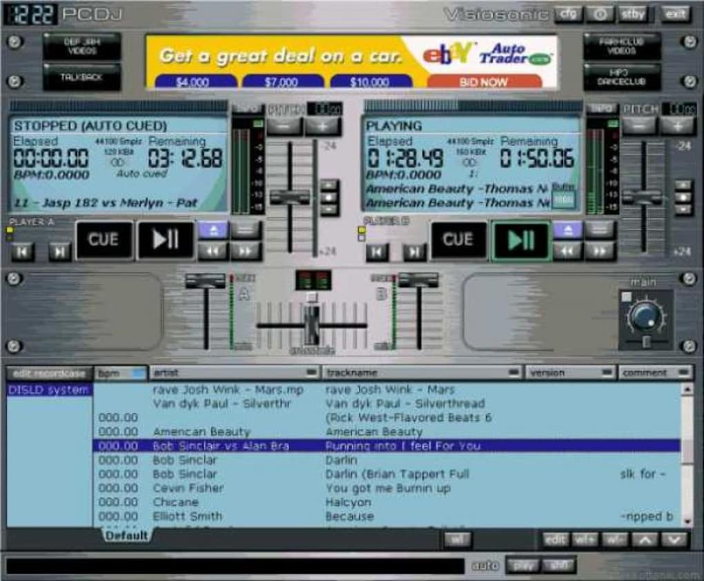 pcdj blue para windows 7