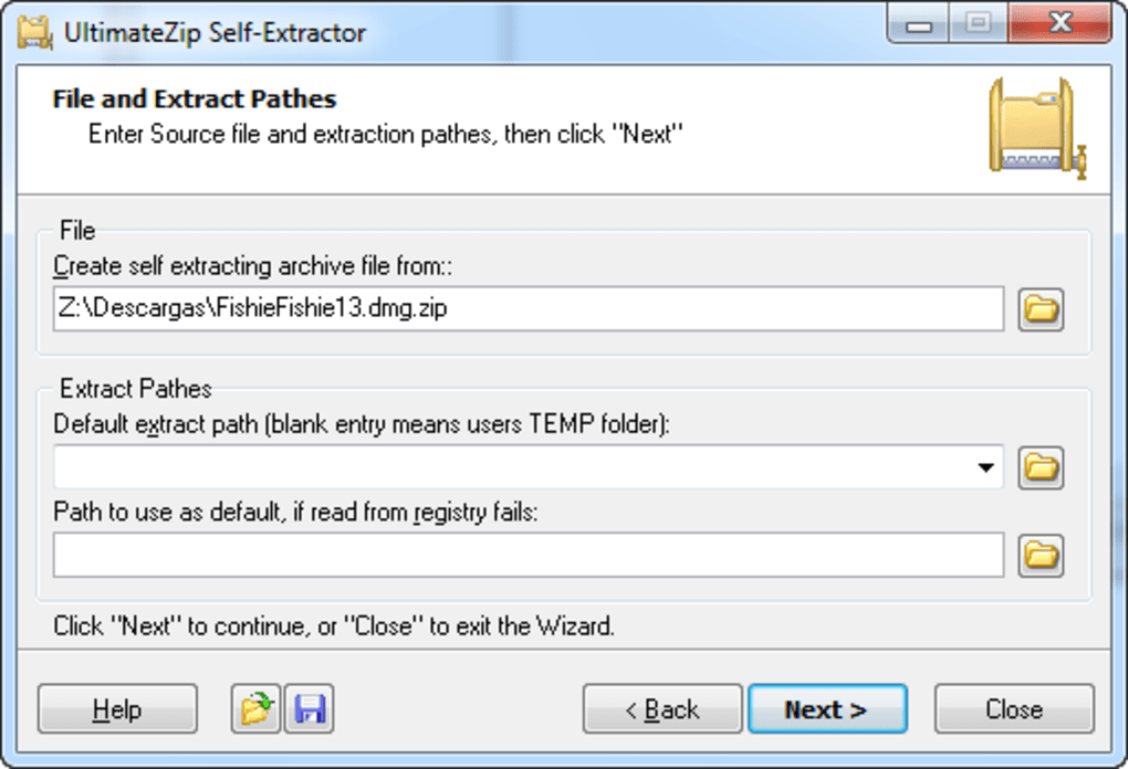 Associated file types