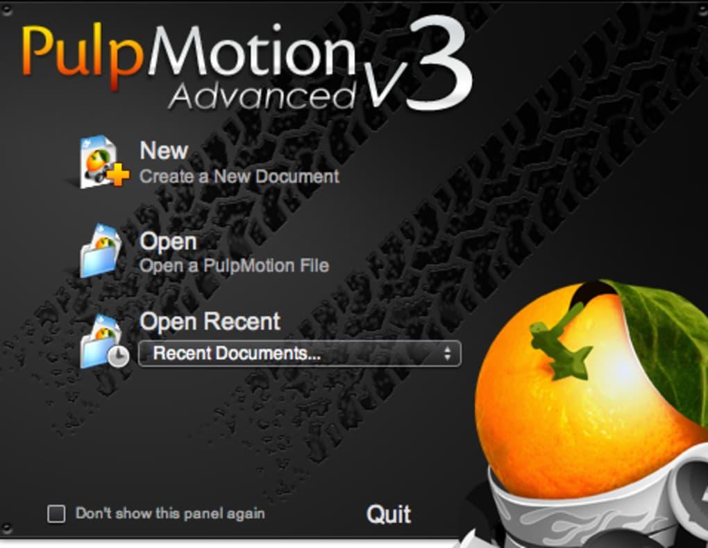 PulpMotion For Mac