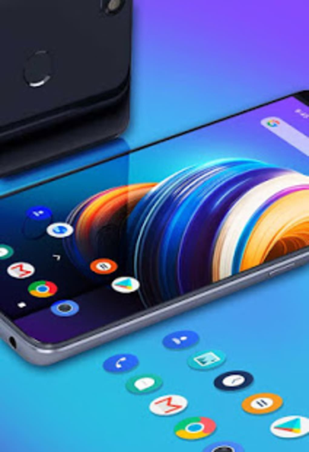 Abstract Colorful infinix note 5 theme for Android - Download