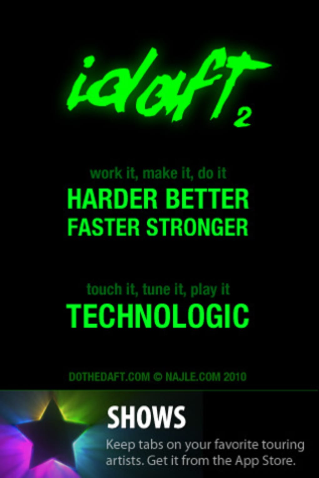 Idaft 2 For Iphone Download