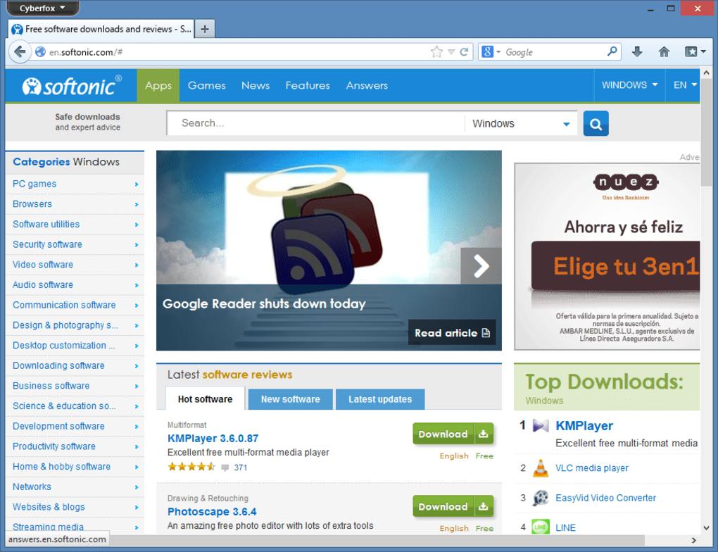 Cyberfox - Download