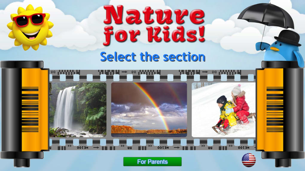 Kids learn about Nature - Flashcards for Toddlers - Download