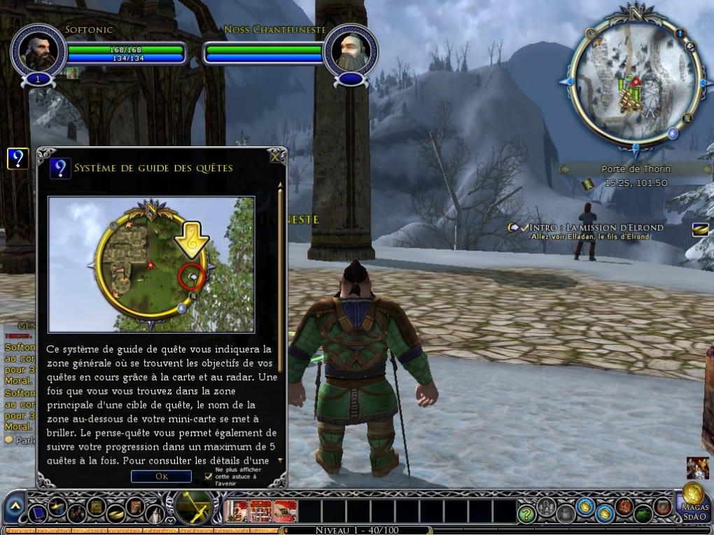 DES TÉLÉCHARGER MMORPG GRATUIT SEIGNEUR LE ANNEAUX