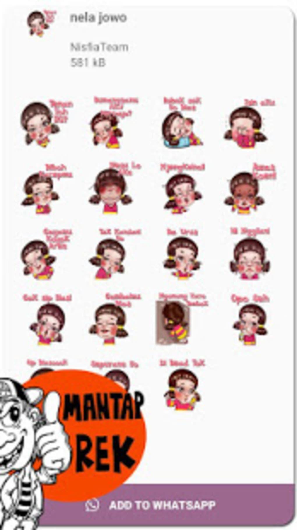 Stiker Jawa Lucu Stiker Wa Untuk Android Unduh