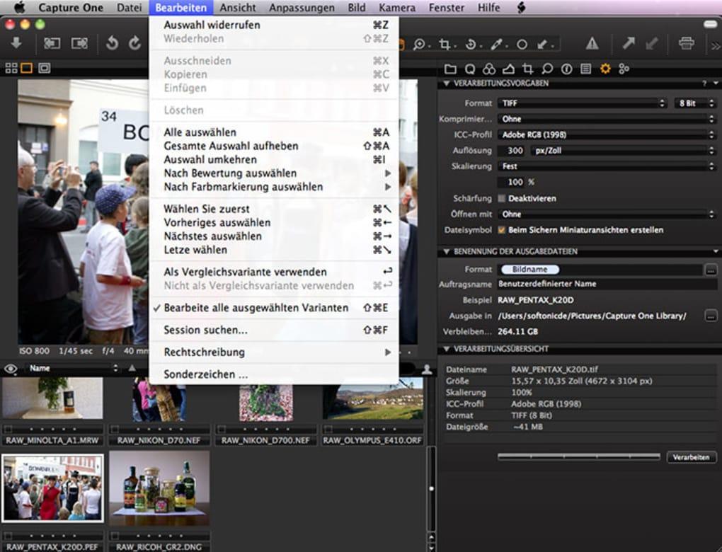 Capture One für Mac - Download
