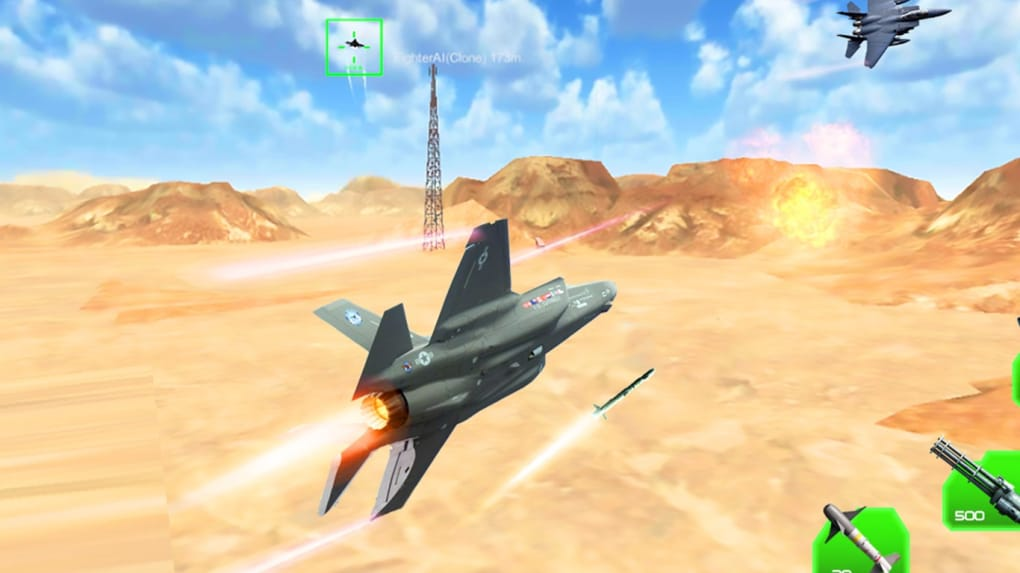 3d fighter plane games free download