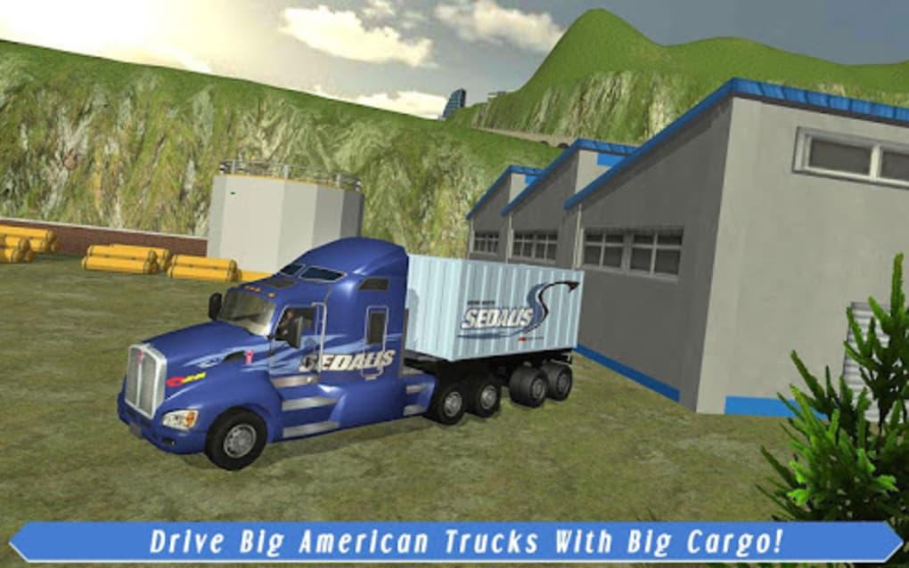 Cargo Truck Driver American Transport