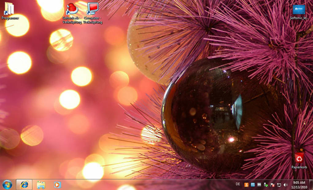 windows 7 christmas theme 18 screenshots