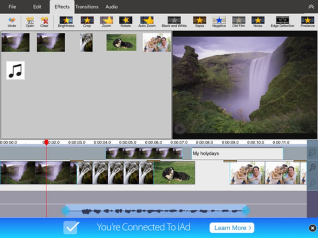 VideoPad Video Editor Free for iPhone - Download