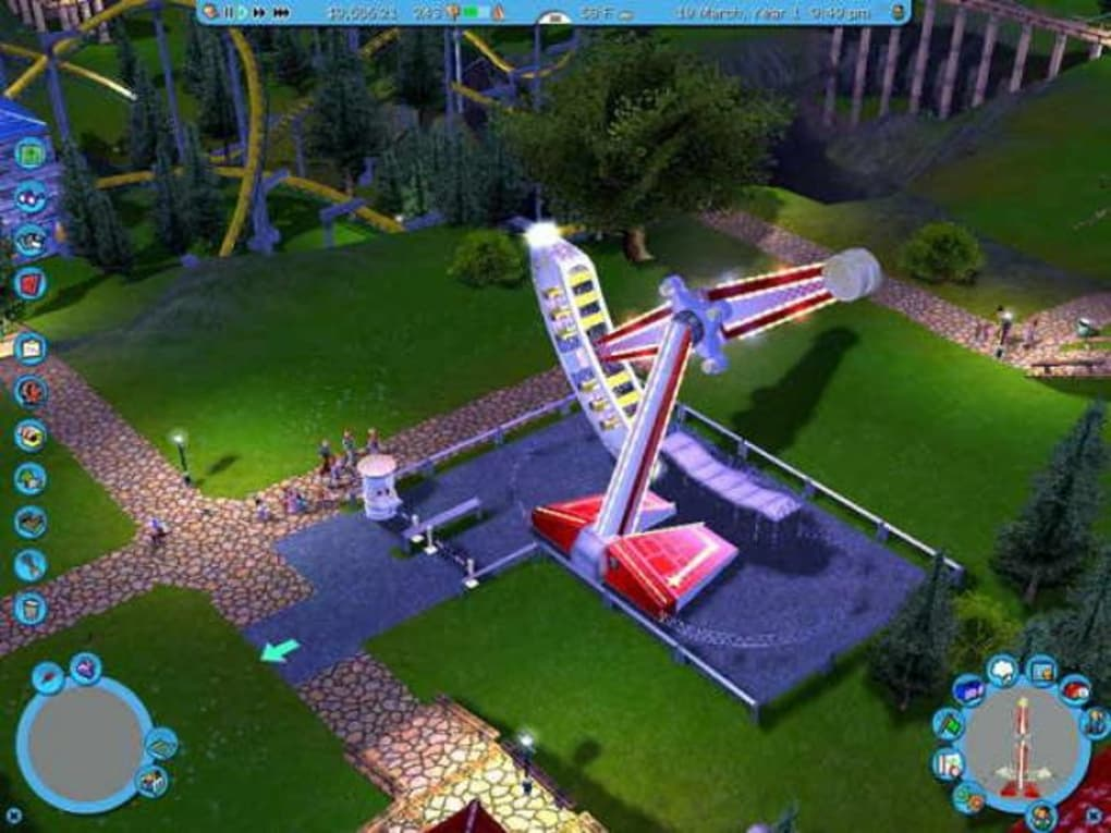 des manege pour roller coaster tycoon 3