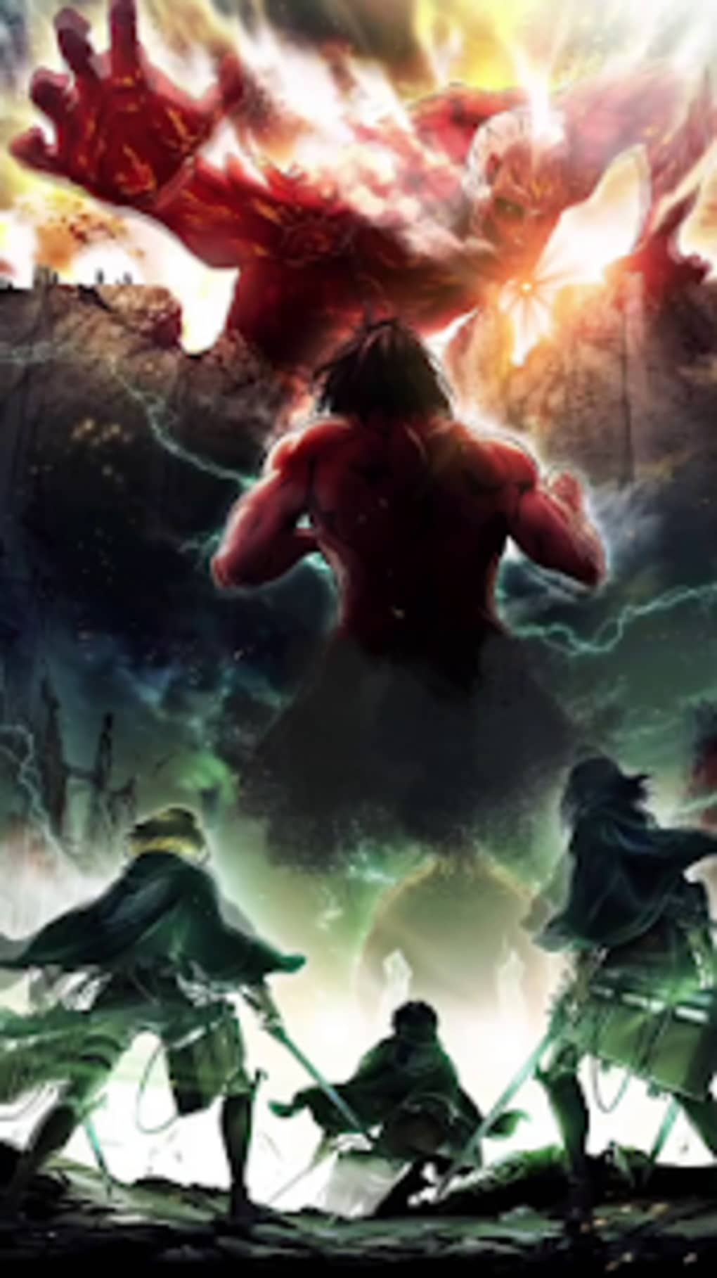 Attack On Titan For Live Wallpaper For Android Download