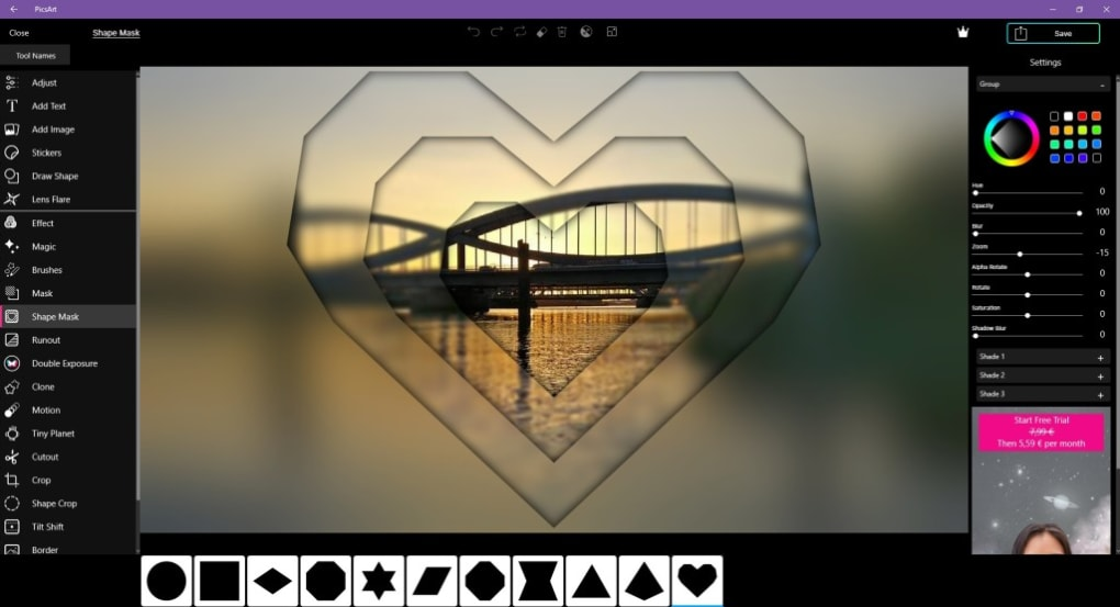 Picsart Photo Studio For Windows 10 Windows Descargar