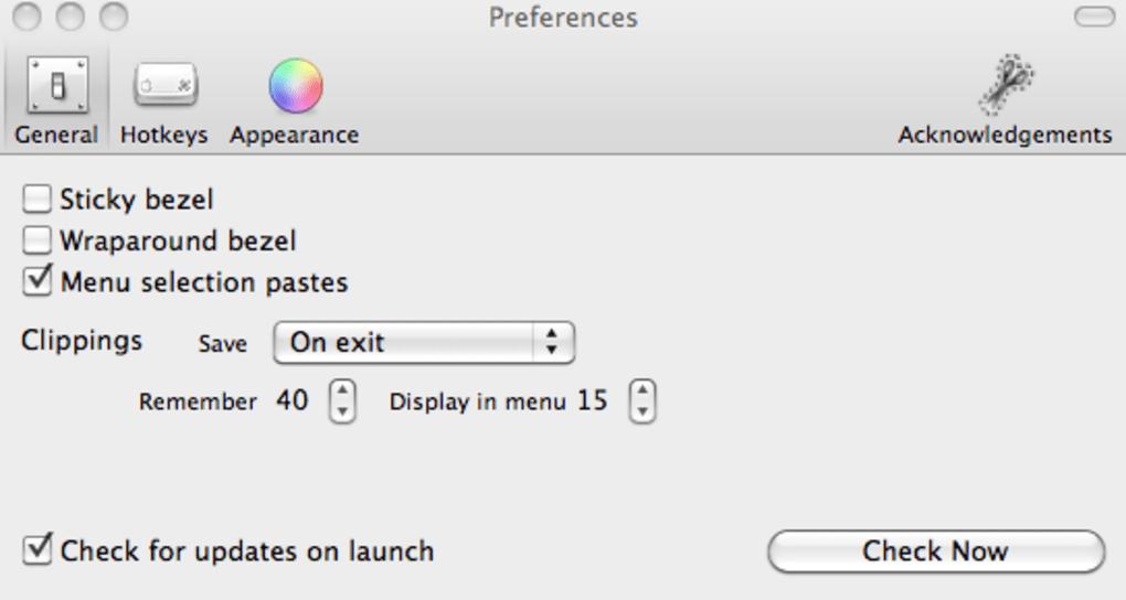 Jumpcut for Mac - Download