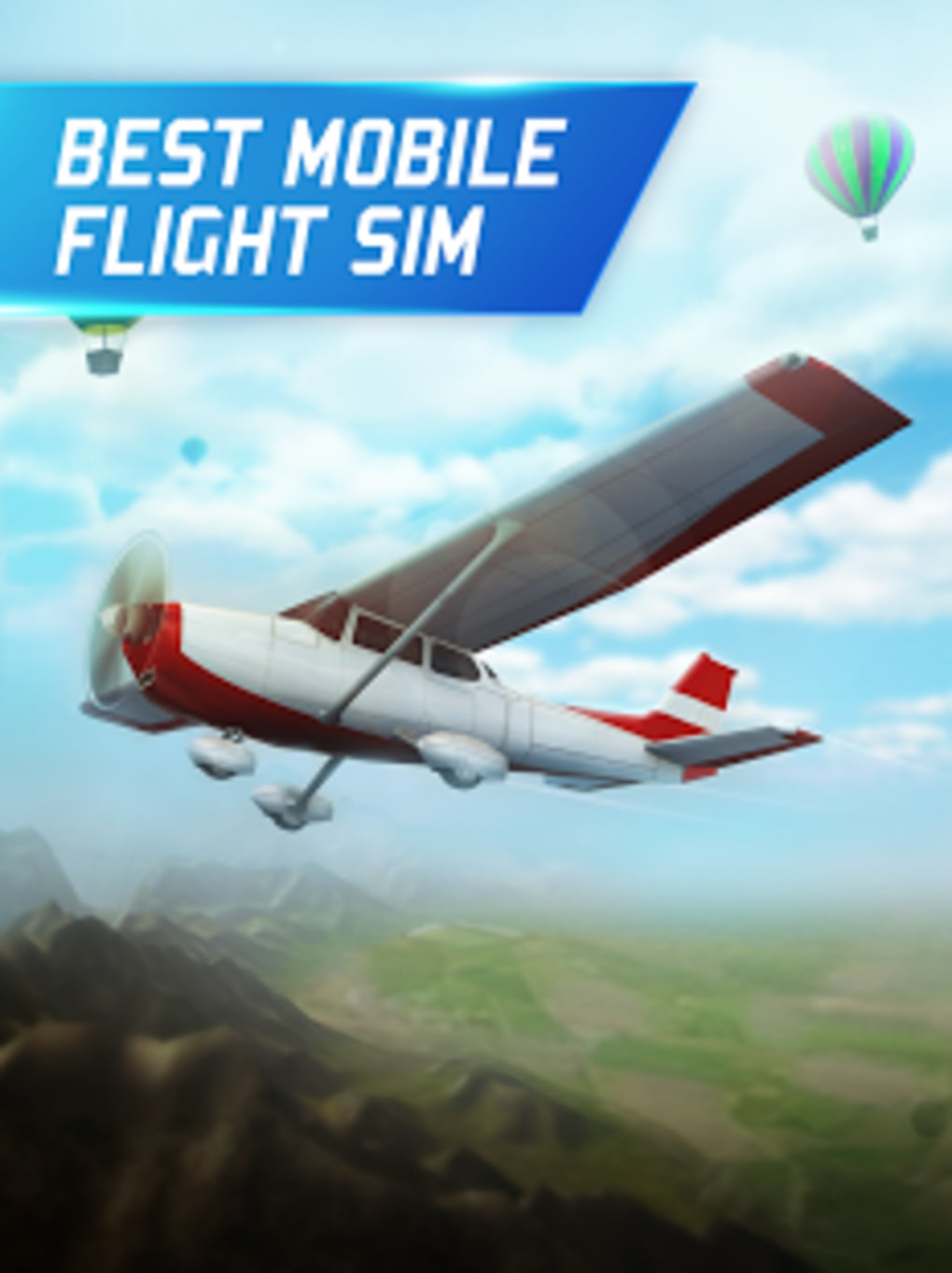 Free download flight pilot simulator 3d free for android for Simulatore 3d