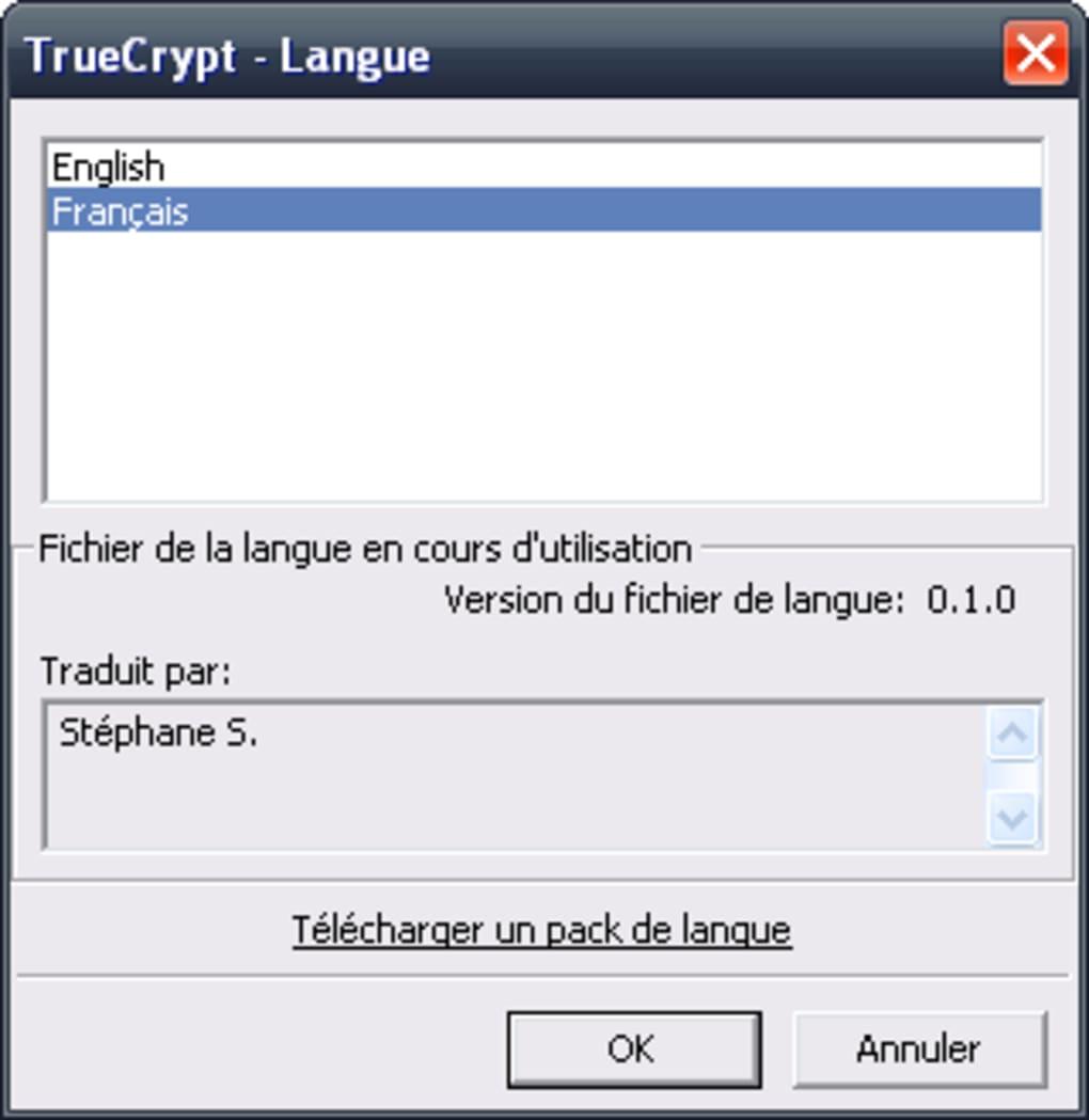 truecrypt francais