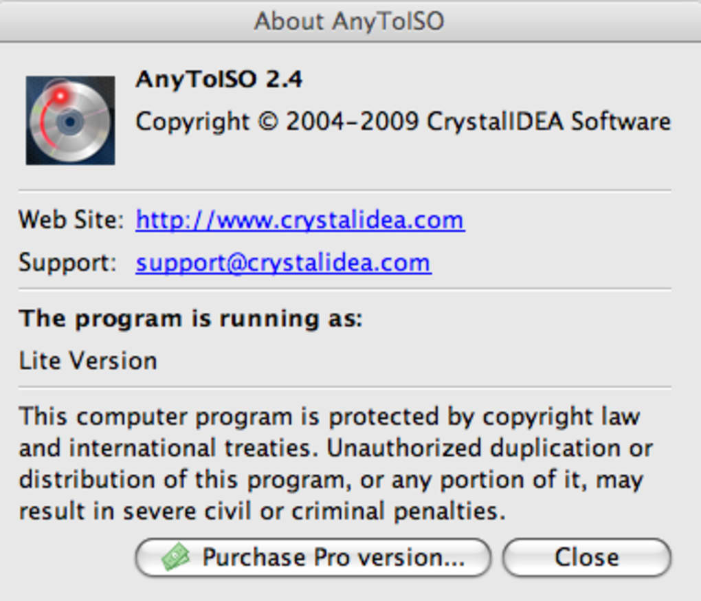 AnyToISO Converter for Mac - Download