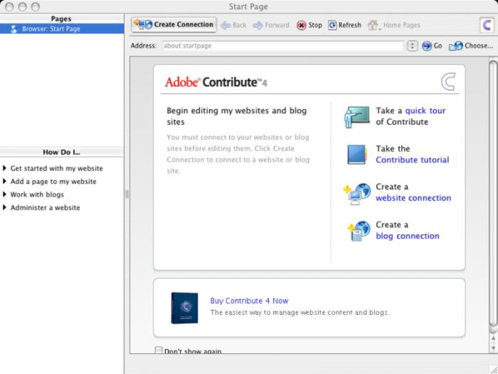 adobe contribute download