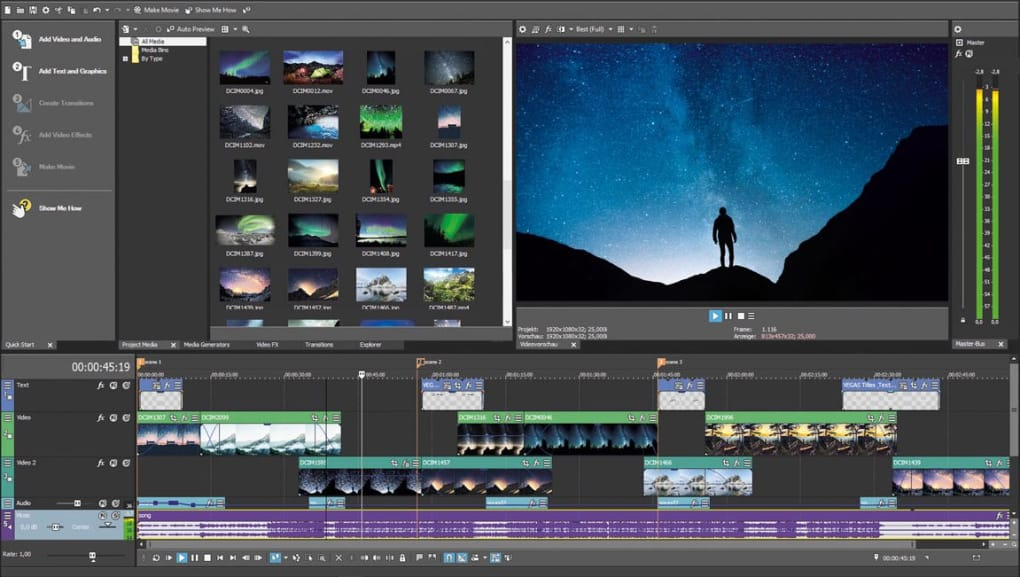 movie studio platinum 13 effects download