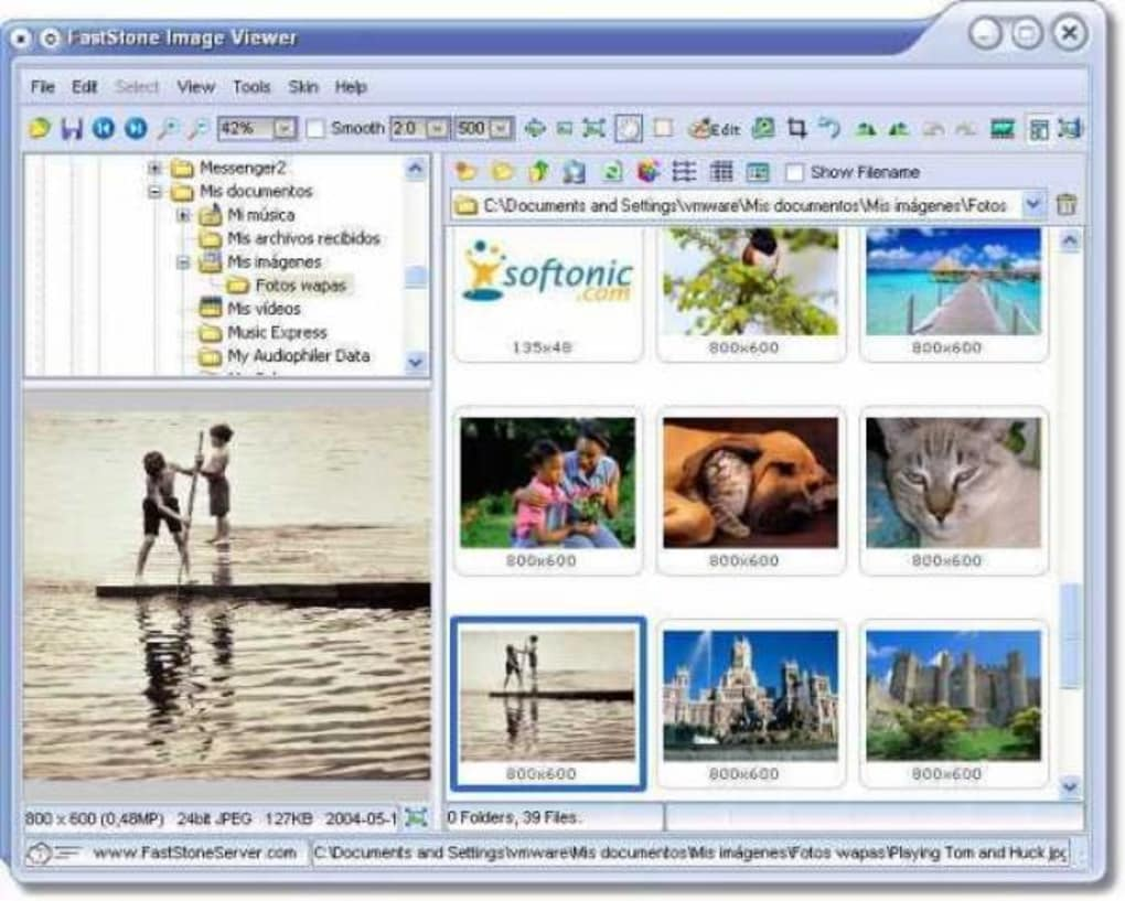 faststone image viewer 4.6 gratuit