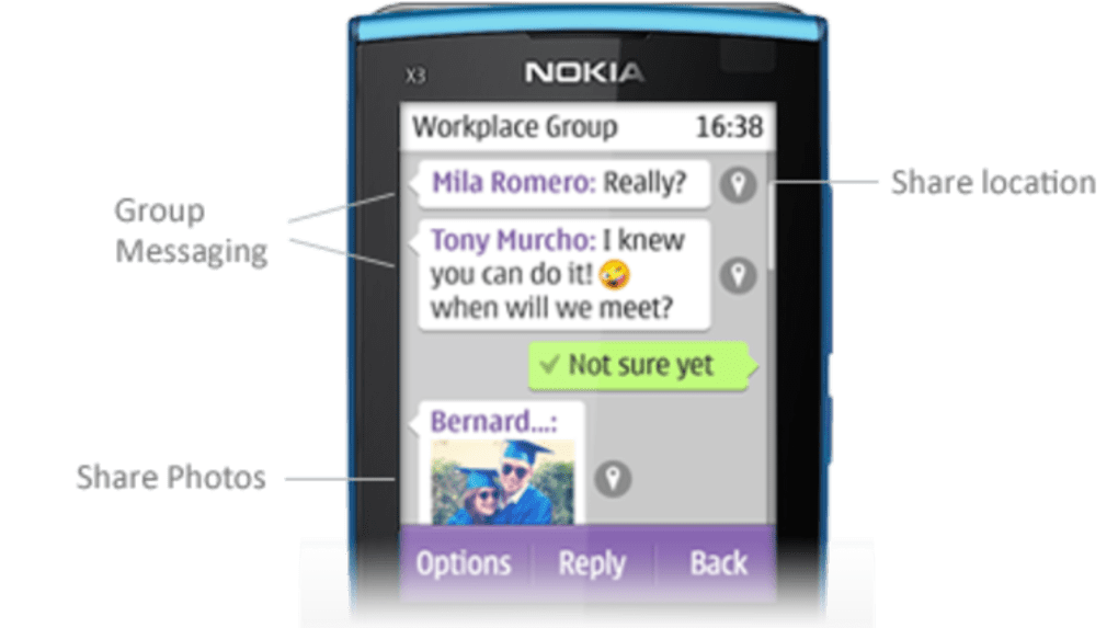 Send free text messages from your Symbian phone