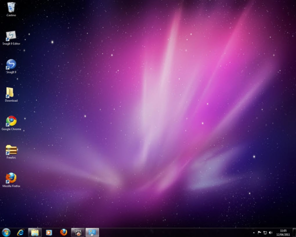 tema mac os x snow leopard para windows 7 windows