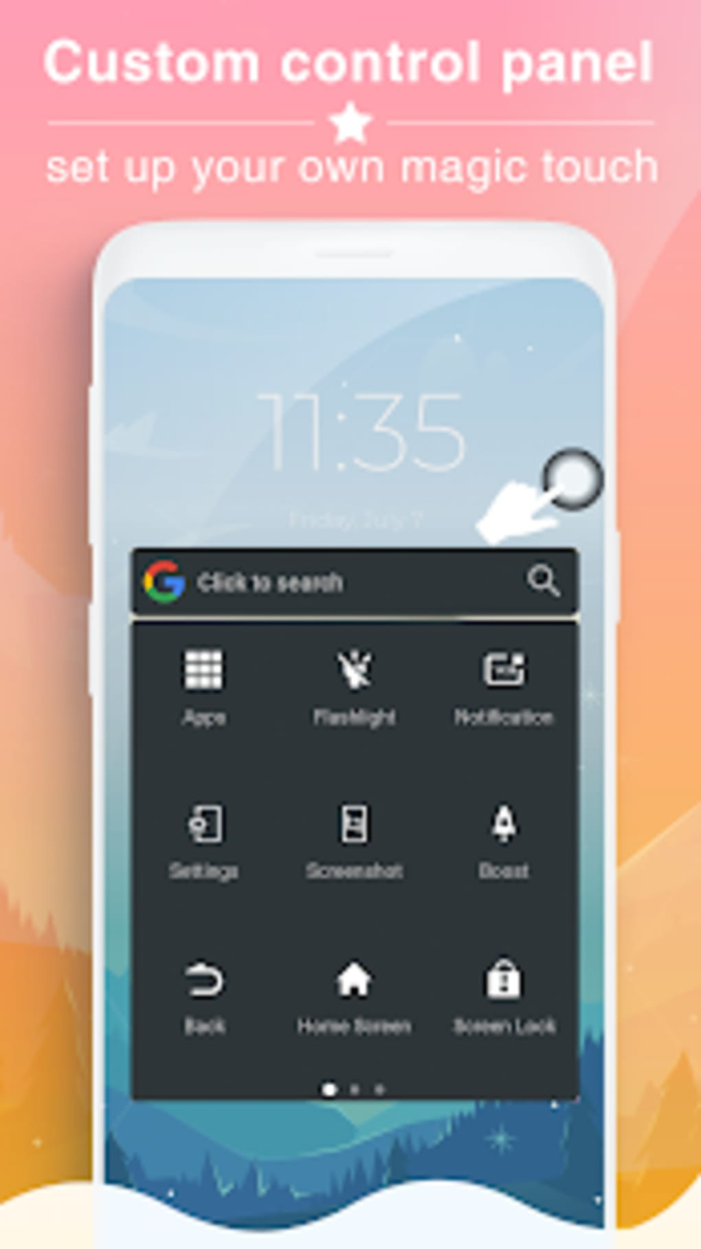 Easy Touch - HomeTouch Assistive Touch for Android - Download