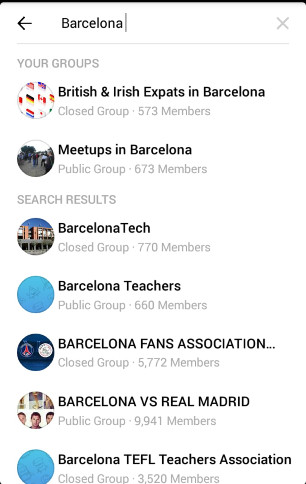 Facebook Groups for Android - Download