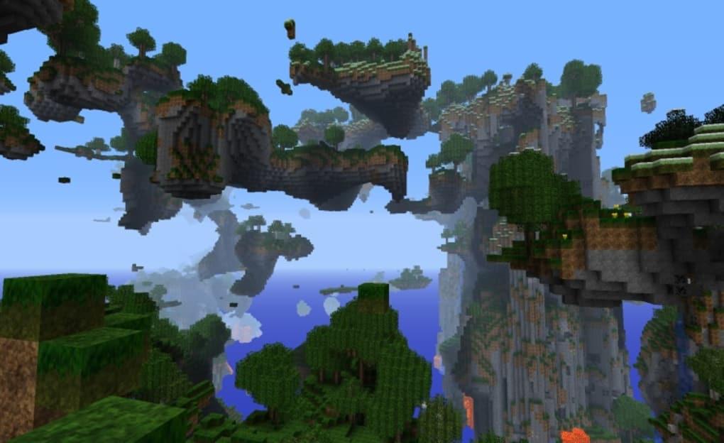 Minecraft Landschaften Wallpaper Download
