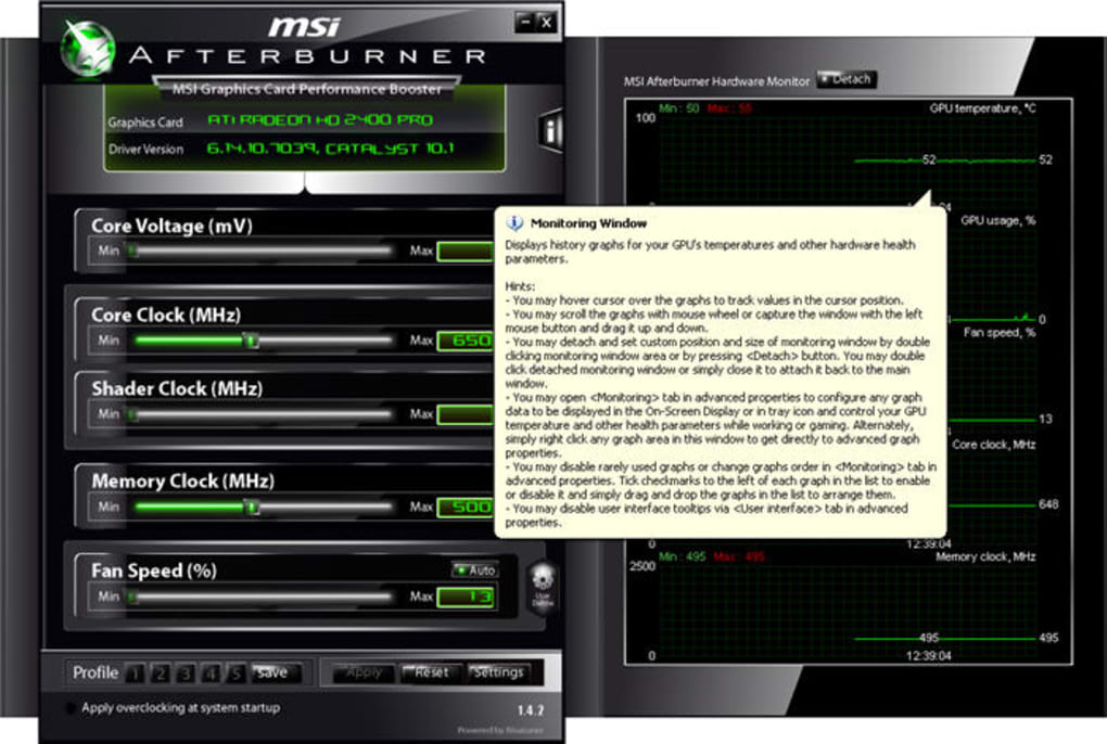 msi afterburner download 4.3