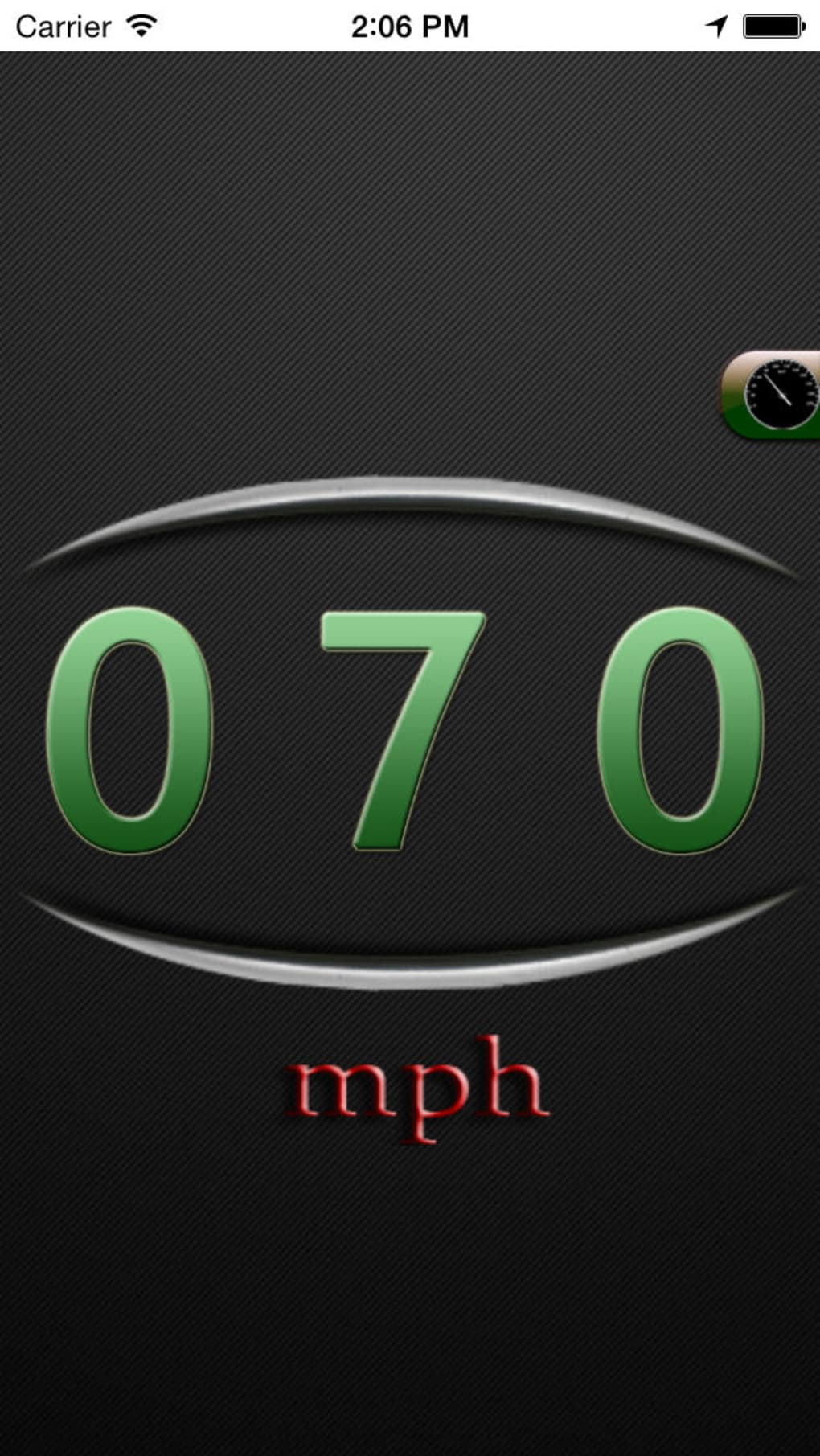 GPS Speedometer and Compass for iPhone - Download