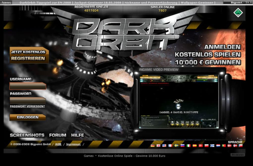 DarkOrbit Online