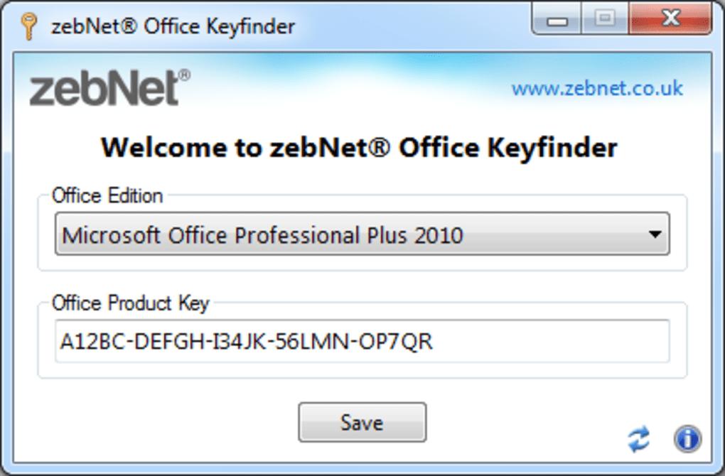 zebNet Office Keyfinder TNG