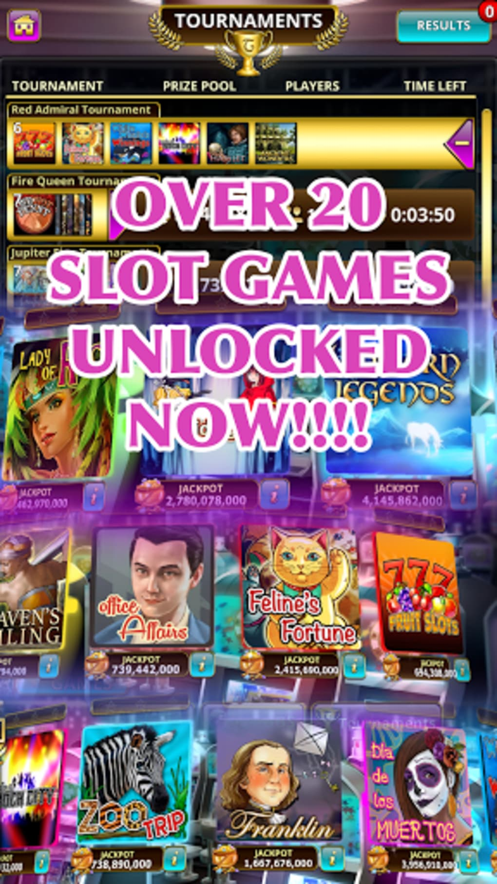 Android slot machine games