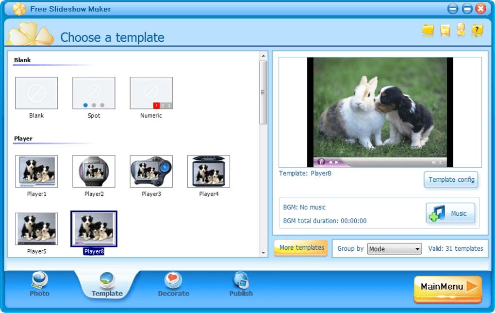 free slideshow maker download