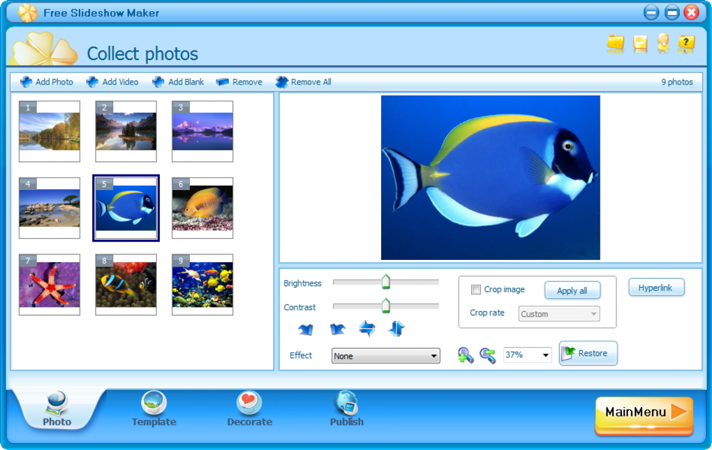 Free Slideshow Maker - Download