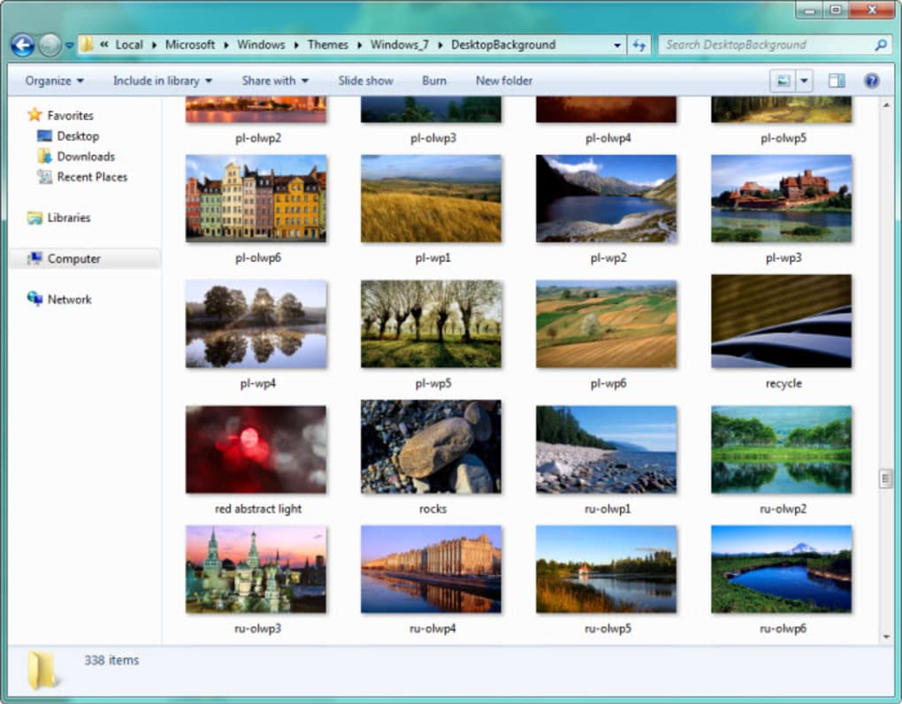 windows dreamscene content pack download