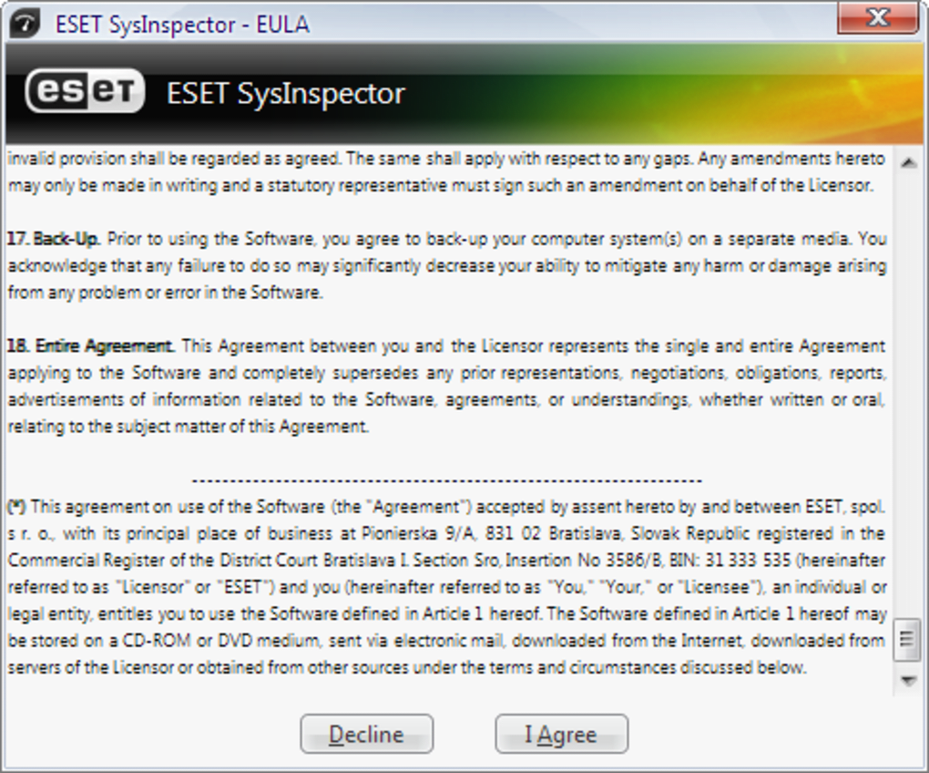 Eset Sysinspector Download