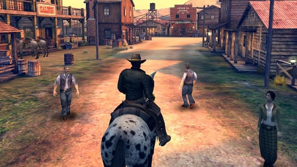 Gameloft's six guns multi-player old west shooter review slashgear.