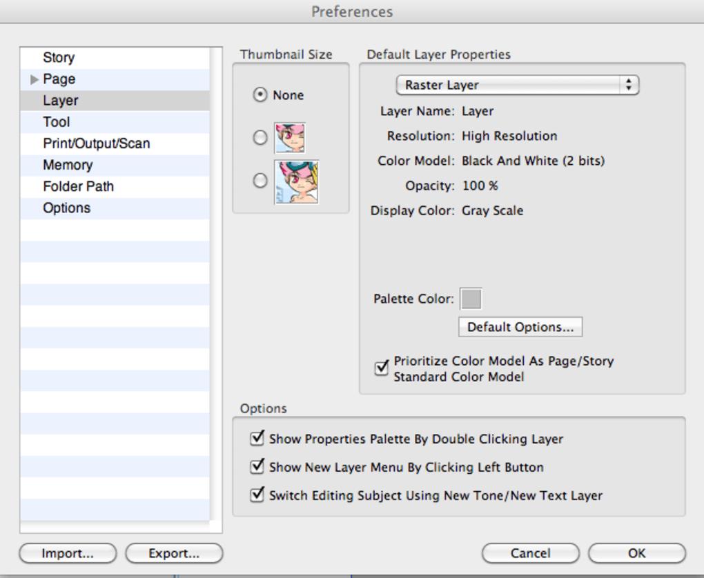 Manga Studio Debut 4 Download Mac
