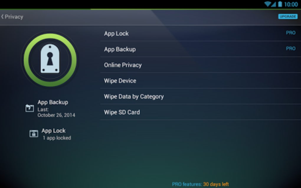 AntiVirus Security FREE for tablet for Android - Download