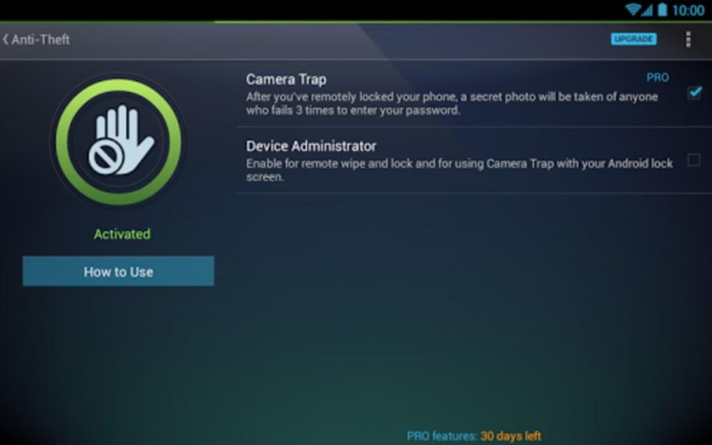 Scarica antivirus gratis per tablet android