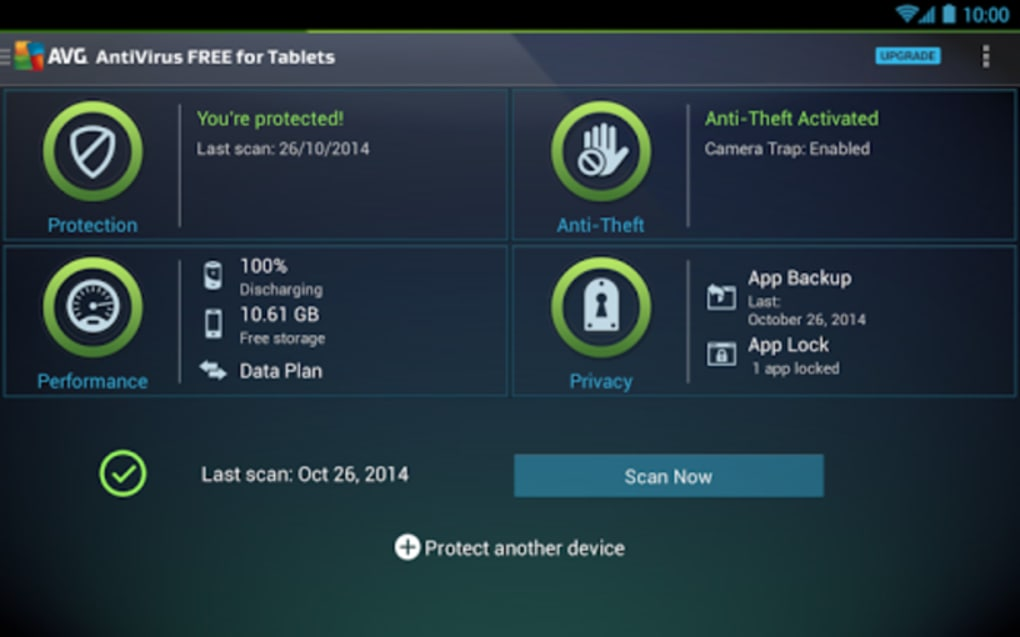 application antivirus pour android