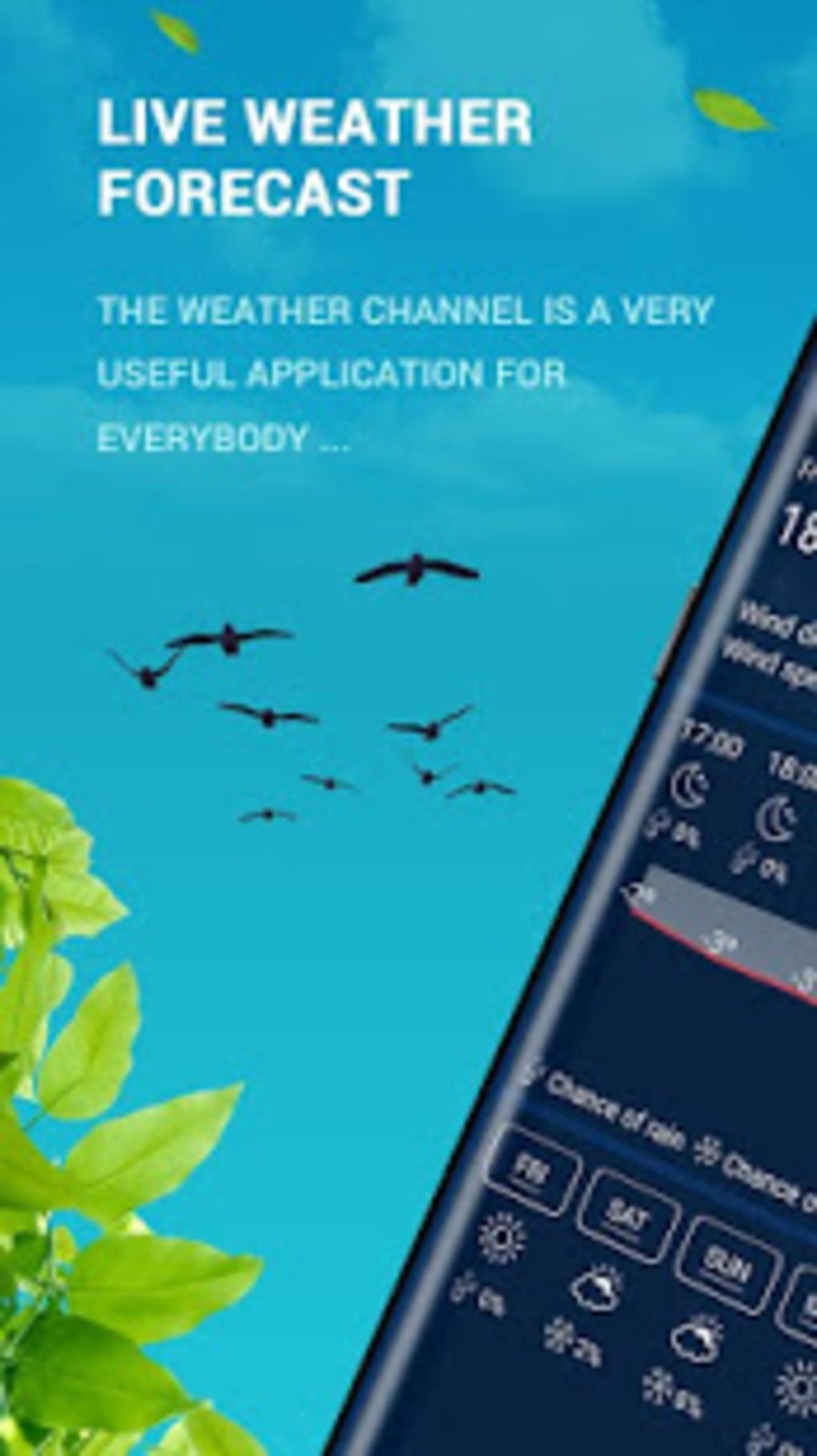 Live Weather - Weather Forecast Apps 2019 for Android - Download