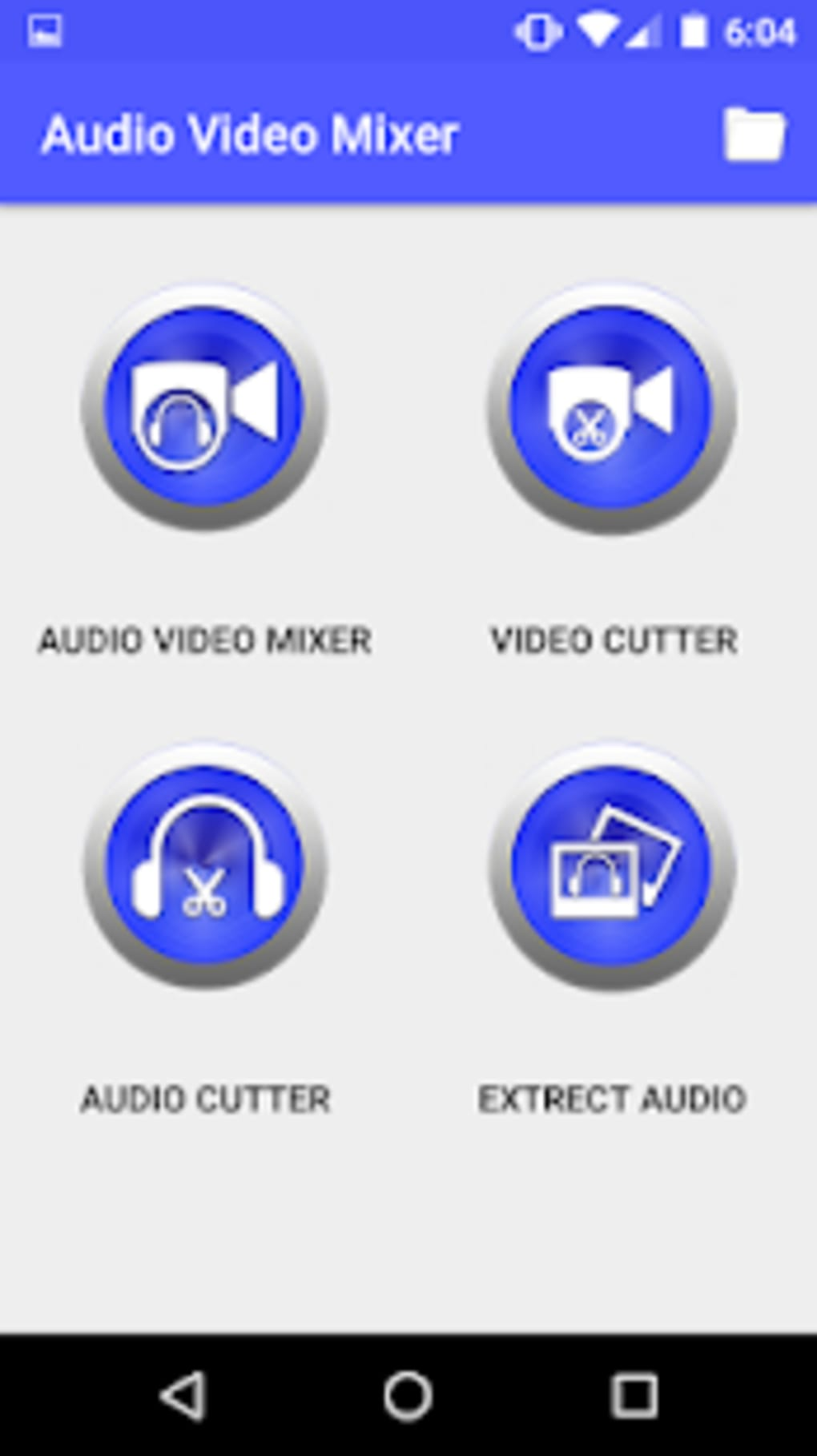 Audio Video Mixer Video Cutter video to mp3 app for Android - Download