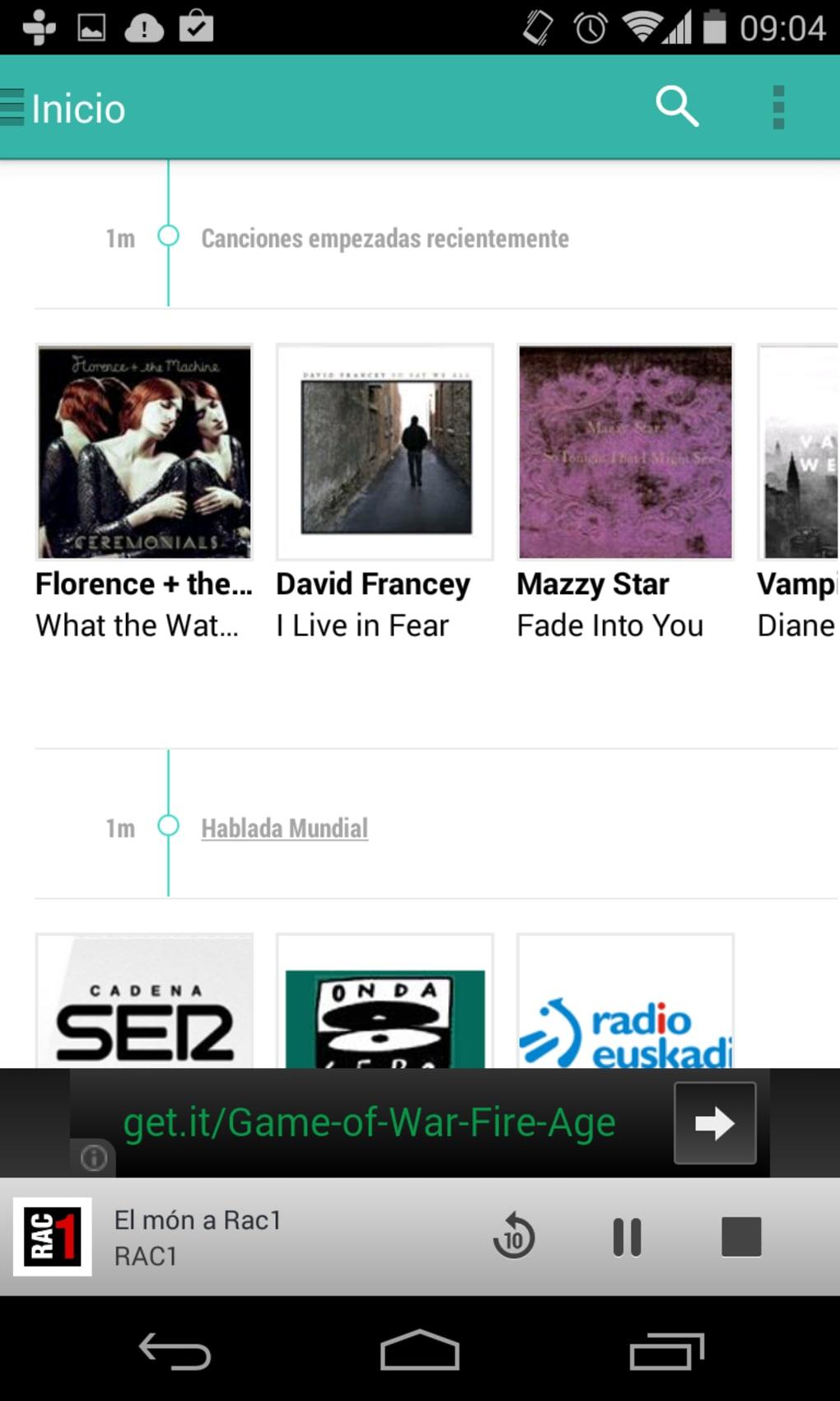 TuneIn Radio Pro para Android - Descargar
