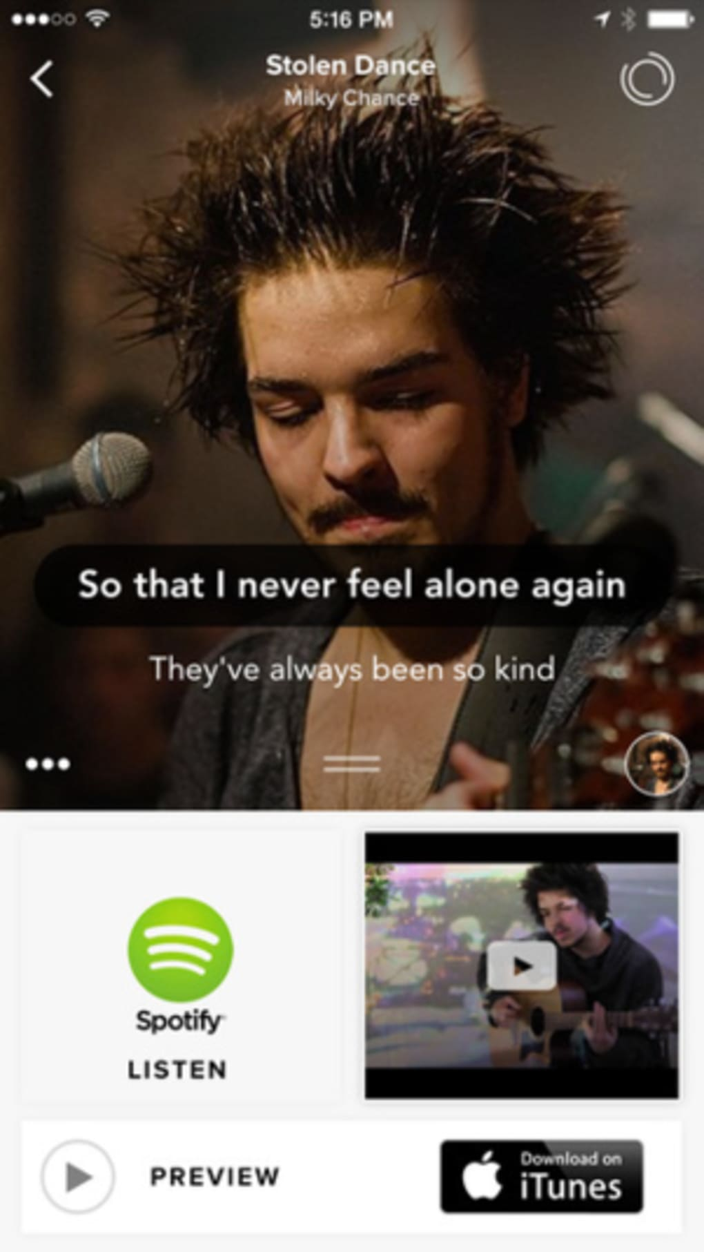 Musixmatch for iPhone - Download