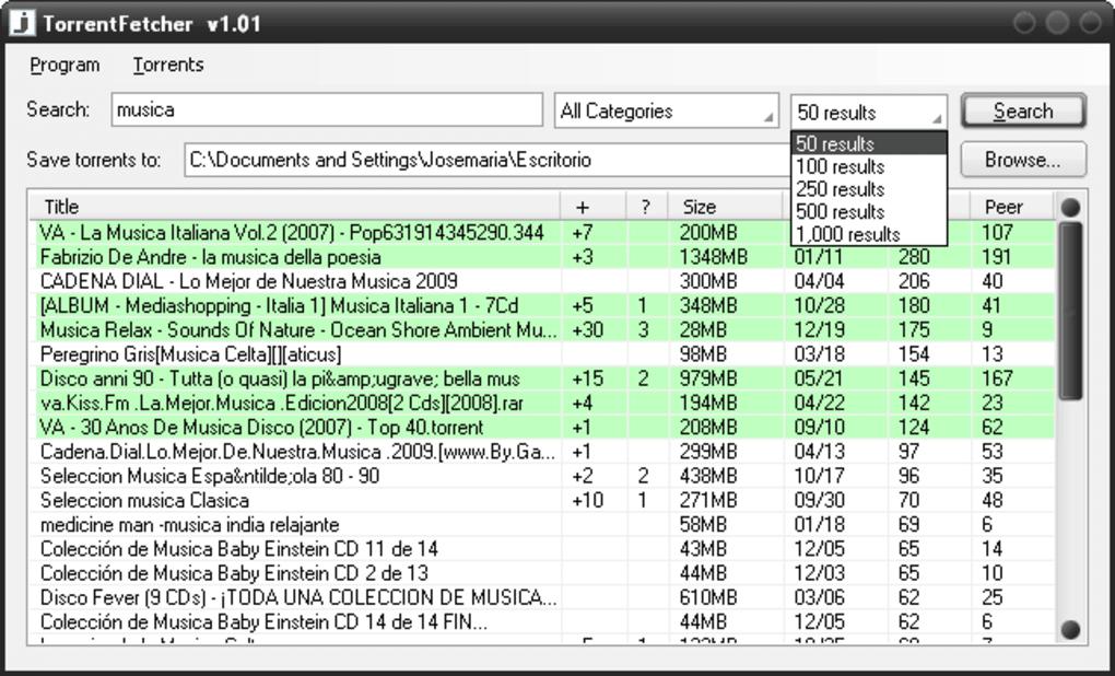 TorrentFetcher - Download