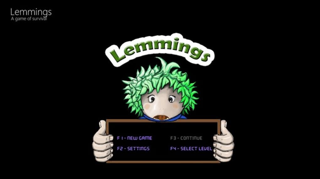 Lemmings for Windows 10